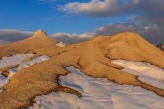 Mud Volcanoes, Romania Royalty Free Stock Photos