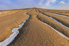 Mud Volcanoes, Romania Royalty Free Stock Images