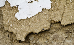 Mud wall background Royalty Free Stock Image