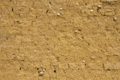 Mud wall texture Royalty Free Stock Image