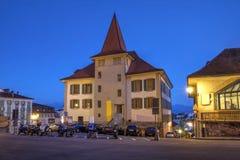 MUDAC,洛桑,瑞士 库存照片