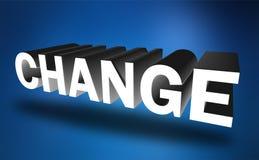 mudança ilustração do vetor