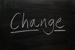 Mudança Fotografia de Stock Royalty Free