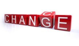 Mudança Imagens de Stock Royalty Free