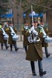 Mudança da cerimónia do protetor Fotografia de Stock