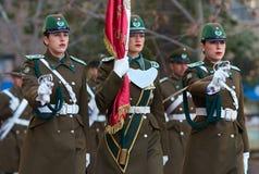 Mudança da cerimónia do protetor Foto de Stock