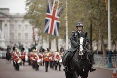 Mudança da cerimónia dos protetores Foto de Stock Royalty Free