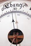Mudança do barómetro Imagem de Stock