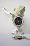 Mudança do dinheiro Fotos de Stock Royalty Free