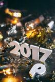 2016 mudanças ao fundo 2017 do Grunge Imagens de Stock Royalty Free