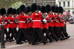Mudança da cerimónia dos protetores. Fotografia de Stock