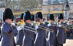 Mudando o protetor, Buckingham Palace Foto de Stock
