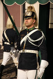 Mudando o protetor. Palácio presidencial. Lisboa. Portugal Imagem de Stock