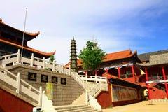 Mudanjiang Yuantong Tempio-Unità di elaborazione Du Zhong-Sheng Immagini Stock