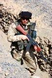 Mudanza del soldado foto de archivo libre de regalías