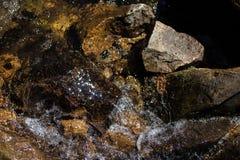 Mudanza natural del área del río de la montaña de la roca Fotografía de archivo libre de regalías