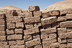 Mudbricks Royalty Free Stock Photo