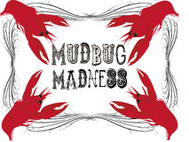 Mudbug Madness Royalty Free Stock Images