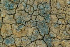 Mudcracks and soil drought Stock Photography