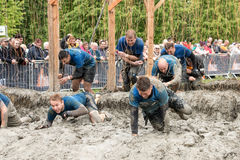 Mudder dur 2015 : Choquer Photo libre de droits