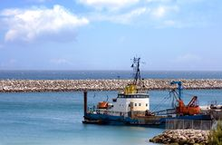 muddra hamnen Royaltyfri Fotografi