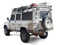 Muddy 4x4 vehicle royalty free stock image