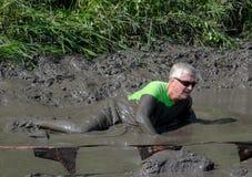 Muddy active senior Stock Image