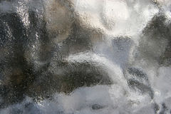 Muddy blurry gray glass texture background. Muddy blurry gray transparent glass texture background Royalty Free Stock Photos