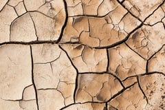 Muddy Cracked Earth Fotos de archivo libres de regalías