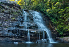 Muddy Creek Falls in Swallow Falls State Park, Maryland royalty free stock image