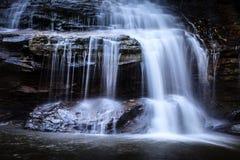 Muddy Creek Falls Up Close och personligt royaltyfria bilder