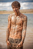 Muddy guy Royalty Free Stock Image