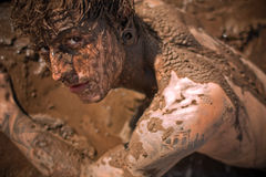 Muddy guy Royalty Free Stock Photos