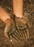 Muddy Hands Royalty Free Stock Images