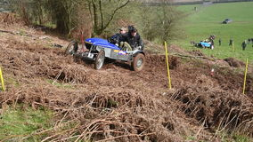Muddy Hill Climb stock video footage