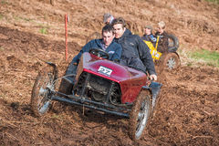 Muddy Hill Climb Royalty Free Stock Photo