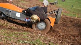 Muddy Hill Climb stock video