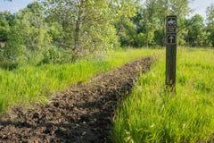 Muddy Horse Trail Photo libre de droits