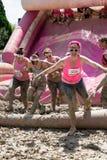 Muddy Race grazioso per vita Immagini Stock