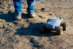 Muddy RC Truck Stock Images