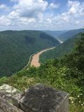 Muddy River Overlook stock image