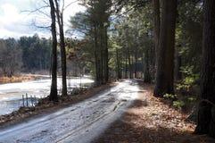 Muddy Road Fotos de Stock Royalty Free