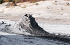 Muddy volcano - RAW format Stock Images