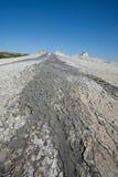 Muddy volcanoes Royalty Free Stock Photo