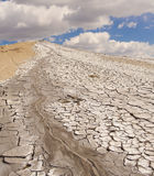 Muddy volcanoes Stock Photography