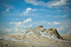 Muddy volcanoes Royalty Free Stock Image