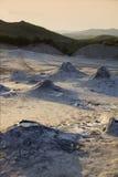 Muddy Volcanoes Royalty Free Stock Photography