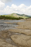 Muddy Volcanoes Reservation in Romania - Buzau - Berca Royalty Free Stock Images