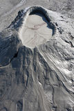 Muddy Volcanos close-up, Romania Buzau Royalty Free Stock Images