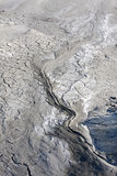 Muddy Volcanos close-up, Romania Buzau Stock Photography
